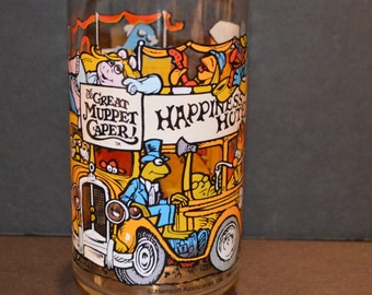 1980's The Great Muppet Caper McDonalds Glass