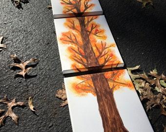 Fall Tree (set of 3)