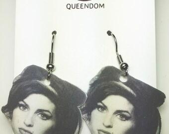 Amy Winehouse Earrings, Amy Winehouse Jewelry, Celebrity Jewelry