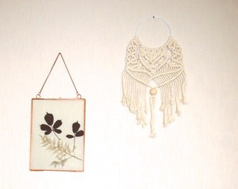 Macrame wall hanging, bohemian wall hanging, boho home decor, vintage style, macrame art, handmade by Maison Manuelle