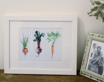 Onions, Beets, and Carrots Oh My!
