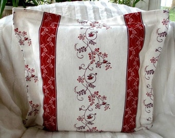 Rustic house pillowcase border