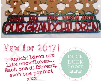Gingerbread Christmas Plaque by Duck Duck Goose