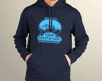 Friday the 13th Inspired Camp Crystal Lake Men's Hoodie