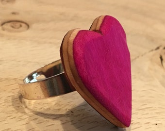 Recycled Skateboard Adjustable Ring