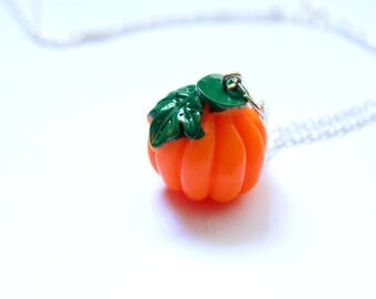 Pumpkin Necklace | Jewellery | Autumnal | Pumpkin Accessory | Accessories