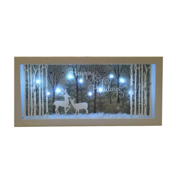 Lighted Christmas Stars