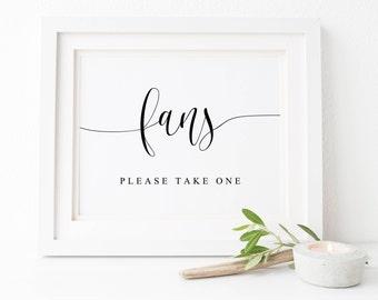 Wedding Fans Sign-Wedding Fans Printable Sign-Wedding Printables-Wedding Sign-Wedding Signs-Wedding Decor-Fans Sign-Wedding Signage.