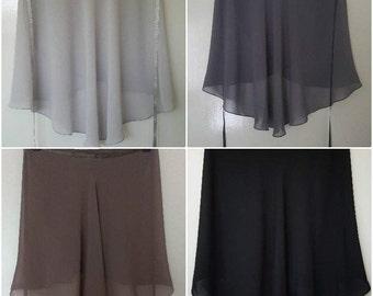 Ballet Skirts Single colours : Cold pastels