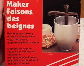 Vintage Donut Maker by Prisma Retro Kitchen gadget decor