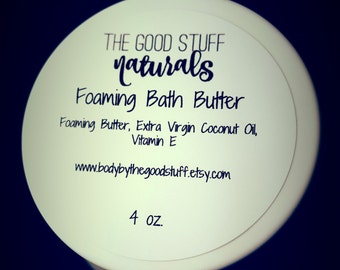 Foaming Bath Butter - Bath Soap - Handmade Soap - Body Wash