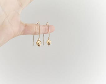Arc Earrings, Gold Arc Earrings, Gold Fill Arc, Simple Arc Earrings, Minimal Arc, Minimal Arc Earrings, Gold Line Earrings, Gold Fill
