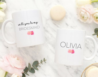 personalized will you be my bridesmaid gift - bridesmaid gift - bridesmaid proposal - maid of honor gift- will you be my bridesmaid gift