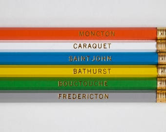 New Brunswick Pencil Set