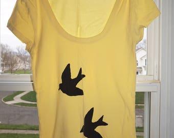 Women's Summer Birds T-Shirt