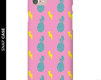 Pineapple Phone Case, Electric Pineapple Phone Case, iPhone 7 Pineapple Case, Retro Pineapple iPhone Case, Samsung Phone Case, Samsung Case