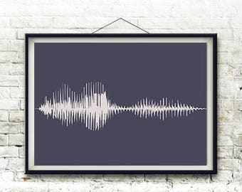 Sound Wave Art, Sound Wave, Sound Wave Downlo, Voice Art, Voice Wave, Custom Sound Wave, Voice Wall Art, Soundwave Art, Soundwave, Art