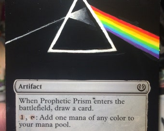 Prophetic Prism - MTG Altered Art