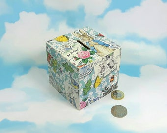 Very cute Peter Rabbit Money Box, ideal gift for Baby Showers or Christmas Stocking Fillers!