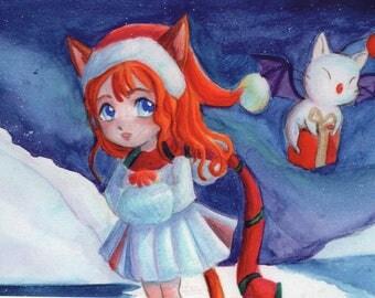 Christmas card Kupo?