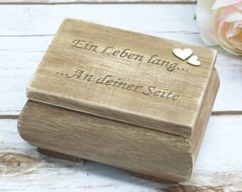 Rustic Wedding Ring Box Wooden Ring Baerer Pillow Holder Ring Box Bearer Wedding Decoration Moss Ring Holder Ring Pillow Wooden Box