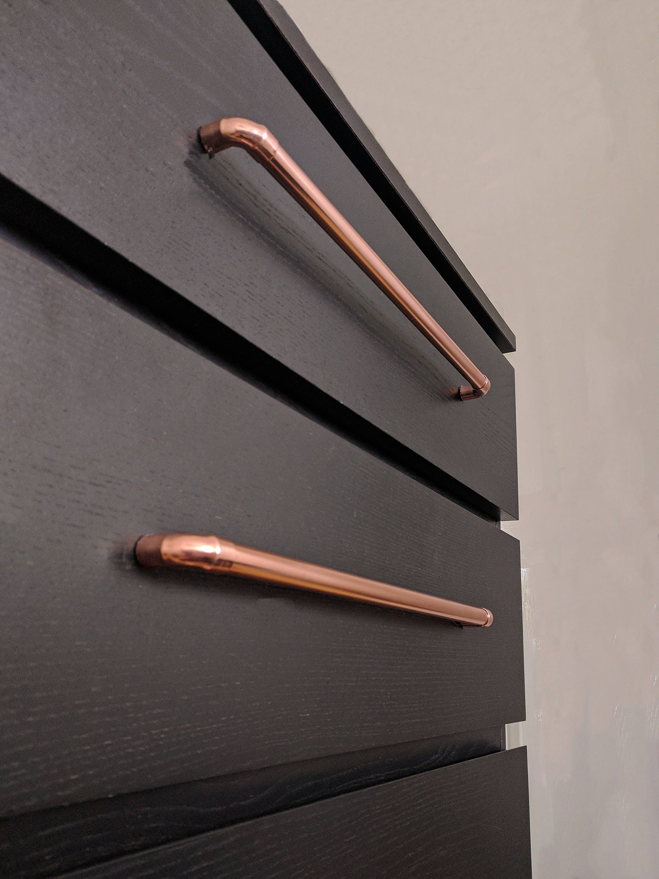 Copper Pull Handle Drawer Knobs Amp Pulls Cabinet