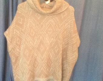 Elsamanda, sweater, Poncho made in Italy, cap, wool vest