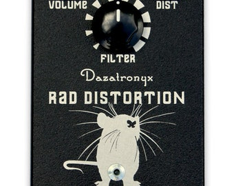 Dazatronyx Rad Distortion - '80s / '90s tone. Hand made in Melbourne, Australia