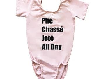 Ballet & Dance All Day Pink Leotard For Kids/Toddler