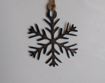 "Steel ""Snow Queen"" Ornament"