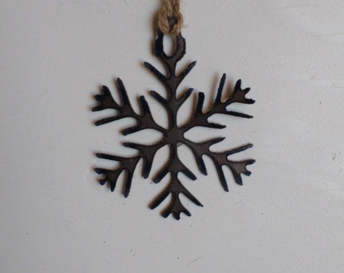 """Steel """"Snow Queen"""" Ornament"""