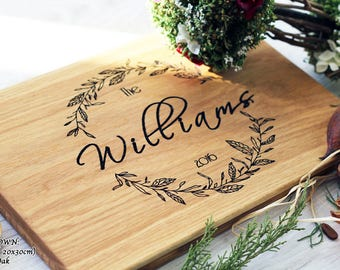 Wedding Gift for Couple Personalized Cutting Board Wedding Gift Ideas Engagement Gift Bridal Shower Gift for Bride Anniversary gift