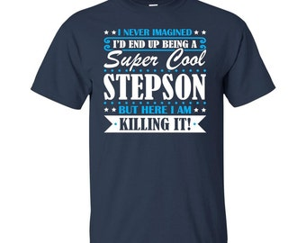 Stepson, Stepson Gifts, Stepson Shirt, Super Cool Stepson, Gifts For Stepson, Stepson Tshirt