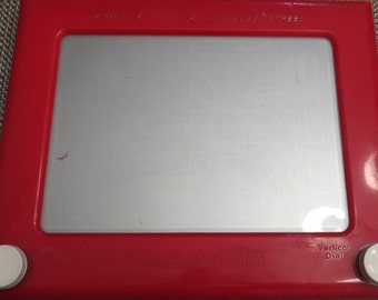 Vintage 70s  No.505 Magic Etch A Sketch Screen Drawing Toy Craft For Kids