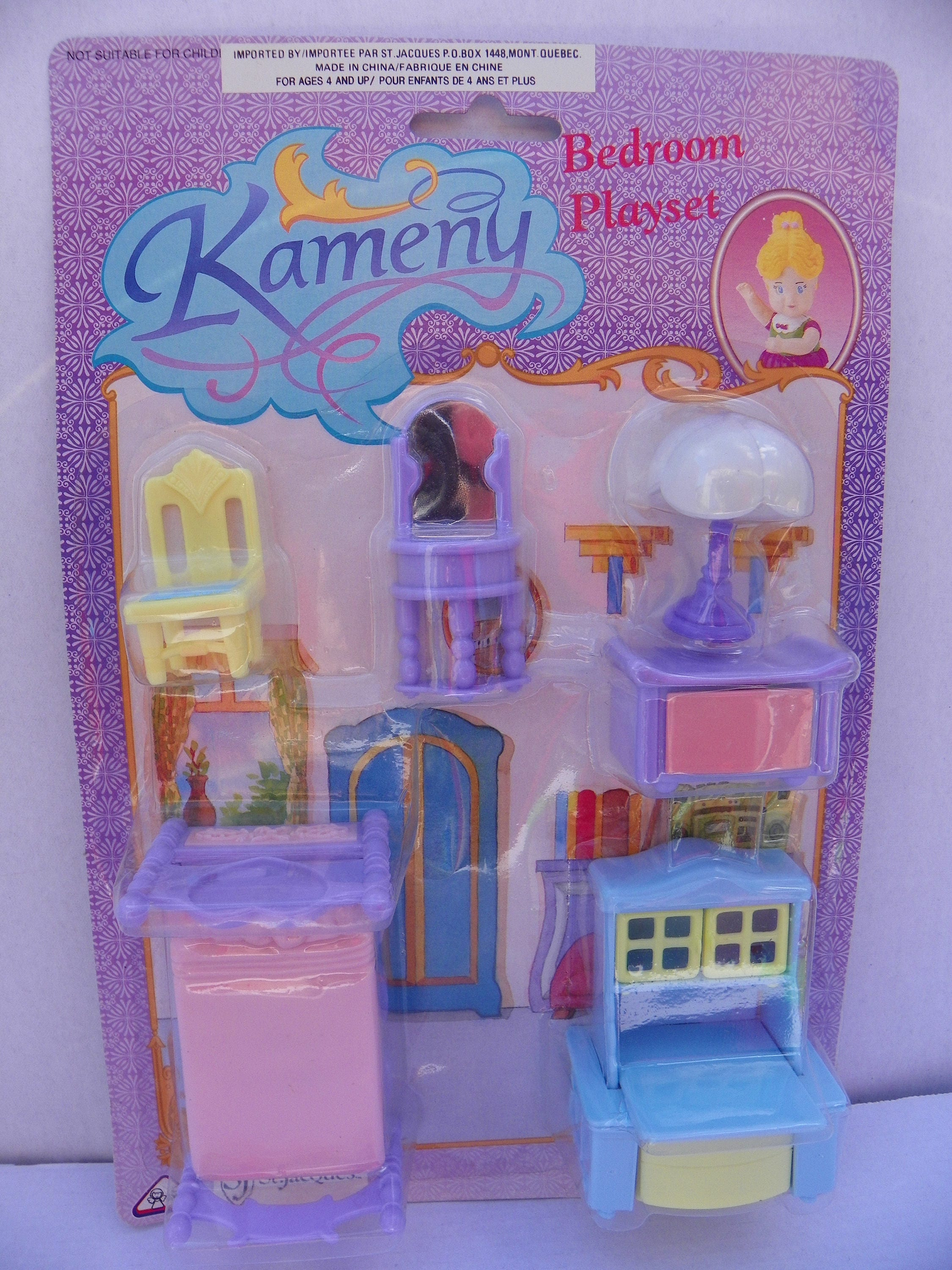 Vintage Kameny Dollhouse Furniture Set 1970 39 S Kameny