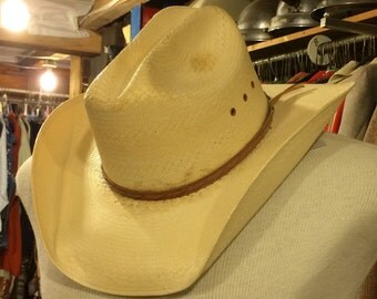 Western Style Straw Cowboy Hat, Milano Hat Company, Larry Mahan's Collection