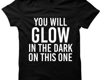 You Will Glow In The Dark On This One T-shirt President Trump Repeals Obamacare Shirt Ladies Tops Mens Tees Plus Size Clothing #Trump