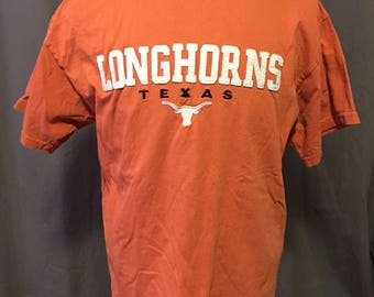 Vintage University of Texas Longhorns T-Shirt, Size: Large