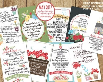 May 2017 Visiting Teaching Message / April 2017 General Conference Quotes--DOWNLOAD INSTANTLY