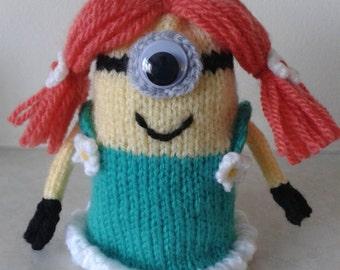 Minion Egg Cosy - Girl Minion