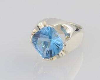 Ring • • silver Topaz