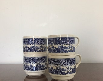Vintage Coffee Cups USA Pottery