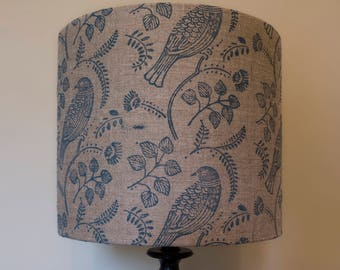 Blue Bird Lampshade - Glow Worm Collection