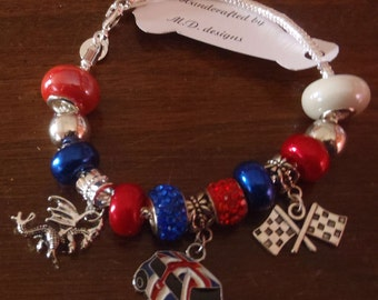 MINI COOPER European Bracelet featuring a Dragon Charm to commemorate MOTD