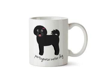 Portuguese Water Dog Mug (girl)
