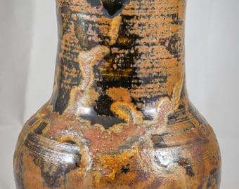 Studio Pottery Vase, Signed