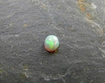 Ethiopian Opal Cabochon Fire Opal Gemstone Welo Opal Natural Opal Oval 5.1x4.5 mm