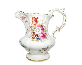 "Vintage HAMMERSLEY & Co. Bone China MINUET Pattern F. Howard 5"" Creamer - Made in England"