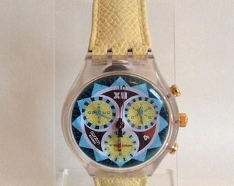 Lemon Breeze Swatch Watch - 1994 - SCK106 - Unworn