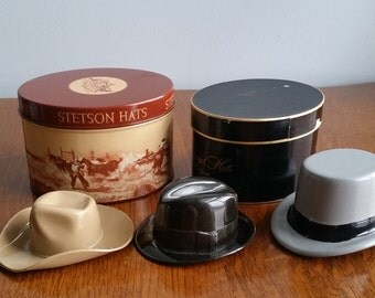 """Salesman Sample of Hats """"Cavanagh and Stetson"""""""